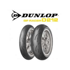 Promotion Dunlop D212 tire train gp racer -50% READY DELIVERY