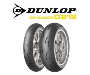 DUNLOP FRONT TYRE GP RACER D212 M120/70
