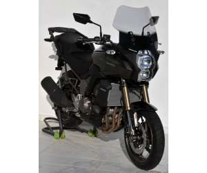 HIGH SCREEN (TOTAL HEIGHT 41 CM/EP 4MM )ERMAX FOR VERSYS 1000 2012/2017 CLEAR