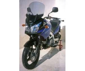 HIGH SCREEN + 10 CM (TOTAL HEIGHT 49 CM) ERMAX FOR DL 650/1000 V STROM 2004/2011 BLUE