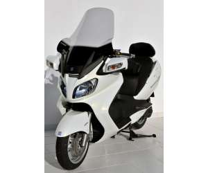 SCOOTER WINDSHIELD ERMAX +18 CM HAND PROT FOR AN 650 BURGMAN 2005/2012 EXECUTIVE CLEAR