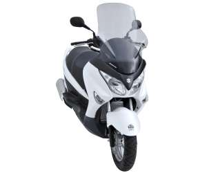 SCOOTER WINDSHIELD ERMAX +7 CM (TOTAL HEIGHT 70 CM) FOR UH 125 BURGMAN 2007/2017 CLEAR