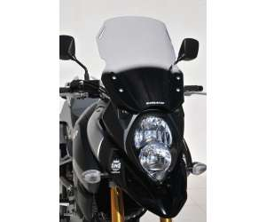 HIGH SCREEN (TOTAL HEIGHT 43 CM) ERMAX FOR DL 1000 V STROM (URBAN/TOURER/ADVENTURE )2014/2016 SMOKED