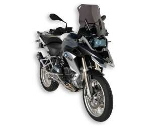 HIGH SCREEN + 8 CM (TOTAL HEIGHT 46 CM) ERMAX FOR R 1200 GS/ADVENTURE (+ FIT KIT )2013/2016 SMOKED