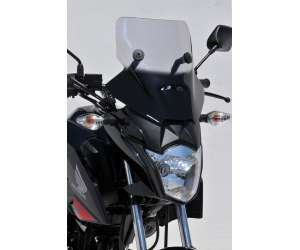 NOSE SCREEN 45 CM (+ FIT KIT )ERMAX FOR CB 125 F 2015/2016 CLEAR