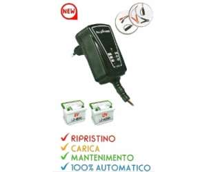 BATTERY CHARGER SWITCHING AUTOMATICO 1A  6/12V  1.2-60Ah