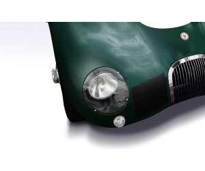 headlight screen ermax for Jaguar C 2019 clear