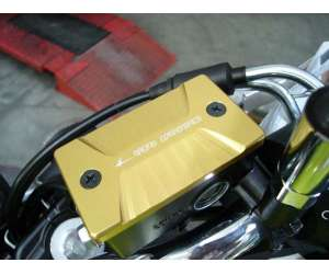 Brake pump cover 4racing for GLADIUS 650 2009 - 2015 color gold