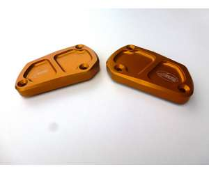 Brake pump cover 4racing for DORSODURO 750 (2 unit set) 2008 - 2015 color gold