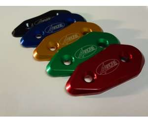 REARVIEW MIRROR COVER FOR  APRILIA RSV4 2009 - 2015 color blue