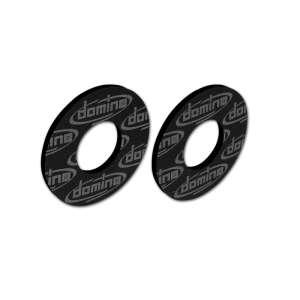 Anelli per flangia manopole Domino cross enduro offroad neri in gomma termoplastica 0004.26.40.04-0