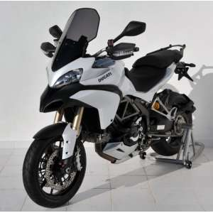 HIGH SCREEN + 10 CM (TOTAL HEIGHT 62 CM) ERMAX FOR MULTISTRADA 1200 S & PIKES PEAK 2010/2012 CLEAR