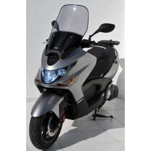 SCOOTER WINDSHIELD ERMAX HIGH PROTECTION (TOTAL HEIGHT 60 CM) FOR 250/300/500 X CITING 2005/2008 SMOKED