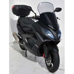 SCOOTER WINDSHIELD ERMAX HIGH PROTECTION +10CM (TOTAL HEIGHT 70 CM) + KIT SEAL FOR 300/500 RI X CITING 2008/2014 SMOKED