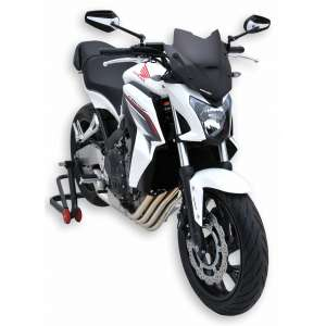 NOSE SCREEN SPORT 28 CM ERMAX FOR CB 650 F (+ KIT PATTES FIX )2014/2016 CLEAR