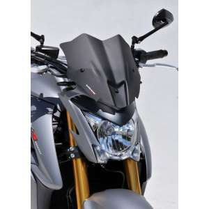 NOSE SCREEN SPORT 30 CM ERMAX FOR GSX S 1000 (+ SUPPORT ABS )2015/2017 CLEAR