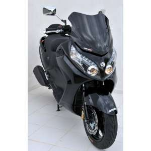 SCOOTER WINDSHIELD ERMAX SPORT 52CM (+ FIT KIT S )FOR MAXSYM 400/600 I 2011/2016 LIGHT BLACK