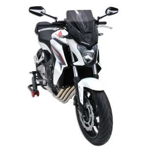 NOSE SCREEN ERMAX 38 CM FOR CB 650 F (+ FIT KIT AND PATTES )2014/2016 CLEAR