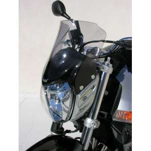 NOSE SCREEN AEROMAX 27 CM + FIX SATIN BLACK ERMAX FOR GSR 600 2006/2011 CLEAR