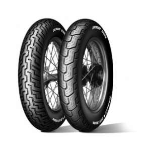DUNLOP FRONT TYRE D402 F.B.Media. MH90 21