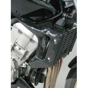 COPRI RADIATORE (AL PAIO) ERMAX FOR CB 900 HORNET 2002/2006 GLOSSY BLACK