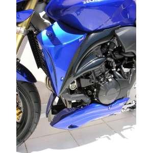 COPRI RADIATORE (AL PAIO) ERMAX FOR CB 600 HORNET BICOLORE 2008/2009 SILVER CARBON LOOK METALLIC BLUE (PEARL FIJI BLUE )