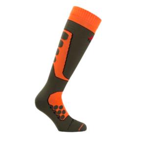 Calze moto tecniche sportive invernali raptor arancioni XTECH taglia 35 - 38