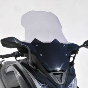 high protection windshield (74 cm ) ermax for AK 550 2017-2018 grey