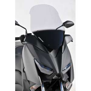 high protection windshield (58 cm ) ermax for x max 300 2017-2018 satin grey