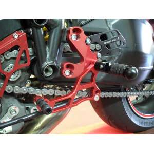 Adjustable rearsets 4RACING for DUCATI  STREETFIGHTER
