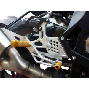 Adjustable rearsets 4RACING for BMW  S 1000 RR  2015